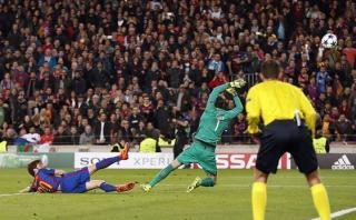 Barcelona: así se vio el gol de la remontada desde la tribuna