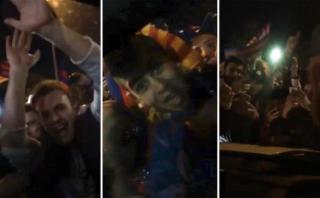 Caótica salida de Messi en el auto y lo que habló con Antonella
