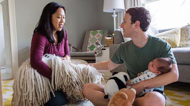 Facebook: Mark Zuckerberg anuncia que será padre una vez más
