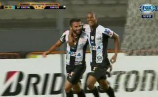 Santos silenció a hinchas de Sporting Cristal con este golazo