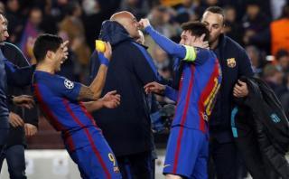 Messi y Suárez mostraron peculiar amuleto tras triunfo ante PSG