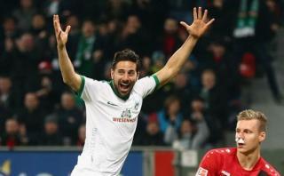 Claudio Pizarro: ¿qué dijo prensa alemana tras su primer gol?