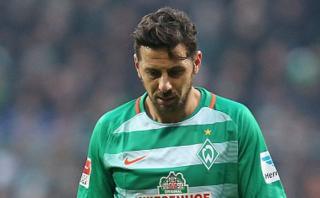 Renovación de Pizarro con Bremen dependerá de su estado físico