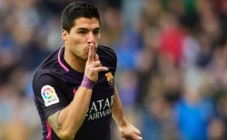 Luis Suárez: preciso derechazo para el empate ante La Coruña
