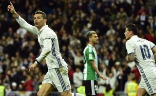 Cristiano Ronaldo anotó para Real Madrid con impecable cabezazo