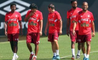 Selección peruana inició entrenamientos con solo seis jugadores