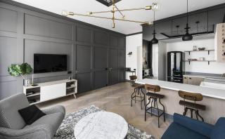 Este acogedor departamento te permite vivir en solo 49 m2