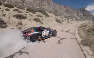 Drifting: Espectacular trepada de montaña con un Nissan 370Z