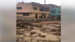 Chosica: fuertes huaicos bloquearon la Carretera Central