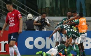 Wilstermann de Mosquera perdió en último minuto ante Palmeiras