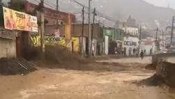 Nuevos huaicos caen sobre Chosica y Huarochirí [VIDEO]