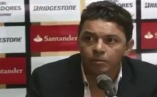 Periodistas colombianos abandonaron conferencia de Gallardo