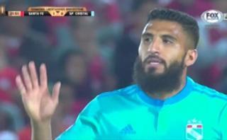 La espectacular atajada que evitó golazo de Josepmir Ballón