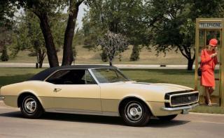 La increíble evolución del emblemático Chevrolet Camaro