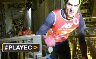 El hombre que sube más rápido la Torre Eiffel [VIDEO]