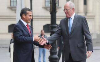 Ollanta Humala ofrece ayuda a PPK y mandatario se lo agradece
