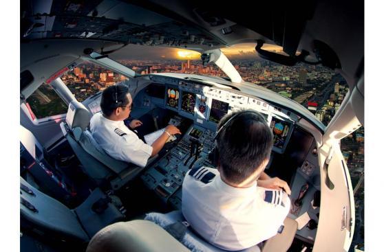 Por qué no hay pistas de aterrizaje circulares para los aviones
