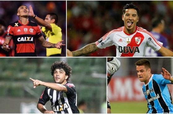 Paolo Guerrero y los delanteros más caros de la Libertadores