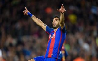 Barcelona: Luis Suárez aprovechó un error y anotó ante Valencia