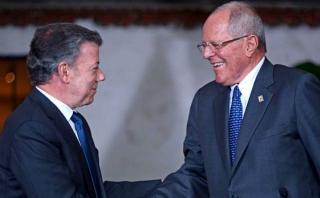 Kuczynski agradece a Santos ayuda enviada por Colombia