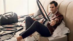 Campeón y modelo: Roger Federer posó para portada de revista GQ