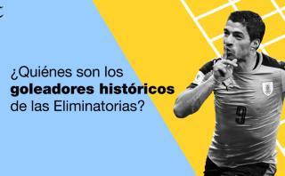 Suárez, el rival que es goleador histórico de las Eliminatorias