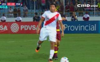 Perú vs. Venezuela: mira el mal estado del campo de juego