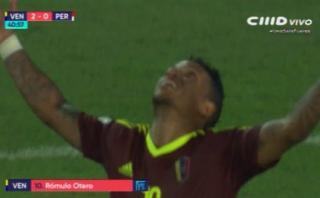 Selección: Venezuela anotó el 2-0 con complicidad de Gallese