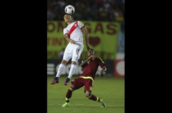 Selección peruana: postales del empate de visita en Venezuela