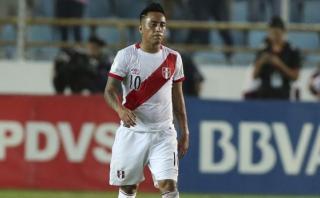 Christian Cueva explicó por qué erró la última ocasión de Perú