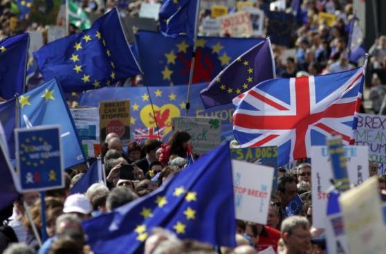 Protesta en Londres: