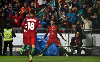 Portugal goleó 3-0 a Hungría con doblete de Cristiano Ronaldo