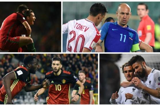 Eliminatorias europeas: las mejores imágenes que dejó la fecha