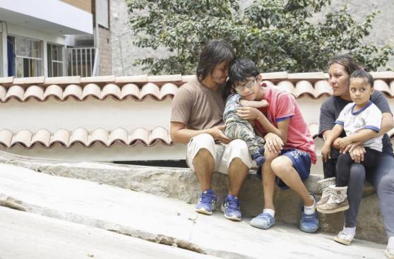 Niño héroe de Chosica: