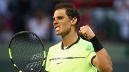 Rafael Nadal avanzó a octavos de final del Masters de Miami