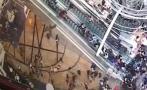Escalera eléctrica se salió de control en Hong Kong [VIDEO]