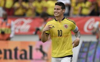 James Rodríguez atacó a la prensa colombiana con gesto obsceno