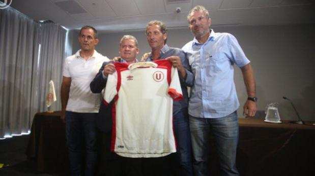 Universitario: Troglio fue presentado como entrenador crema