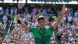 Roger Federer venció a Del Potro y avanzó en Masters de Miami