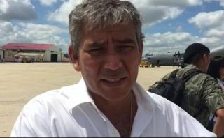 Hilbck: lo más importante es el rescate de personas [VIDEO]