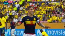James Rodríguez marcó gol de la manera menos pensada [VIDEO]