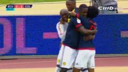 Colombia: Cuadrado anotó 2-0 tras asistencia de James Rodríguez