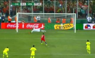 Alexis Sánchez erró penal que lo ponía como goleador histórico