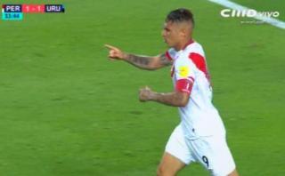 Gol de Paolo Guerrero: dejó en suelo a Godín y definió así