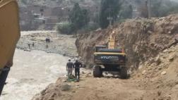 Chosica: ingeniero desapareció tras caer al río Rímac