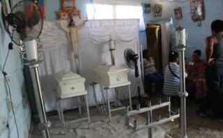 Áncash: dos niños mueren tras incendiarse su casa en Coishco