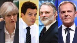 Los personajes claves en las negociaciones del Brexit