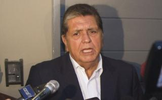 Alan García saluda que Perú retire a su embajador de Venezuela