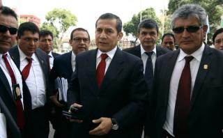 Comisión de Defensa recibe a Ollanta Humala en sesión reservada