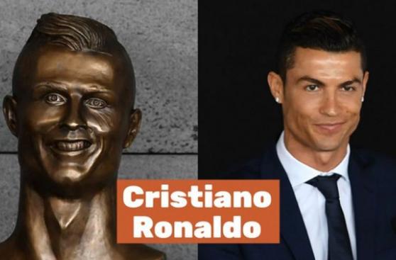 Cristiano Ronaldo y las peores estatuas del deporte mundial